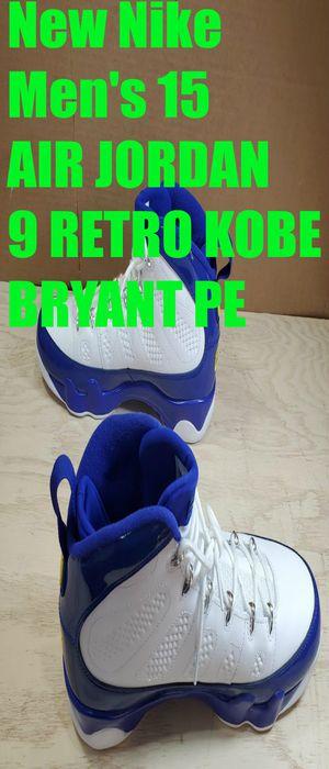 New Nike Men's 15 Air Jordan 9 Retro Kobe Bryant Lakers PE 302370-121 for Sale in Willowbrook, IL