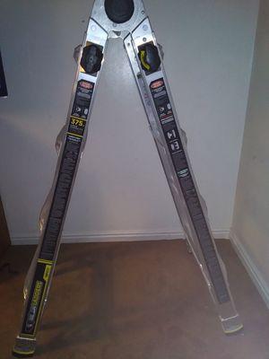 NEW aluminum extension ladder gorilla multi position ladder 18 FT for Sale in Salt Lake City, UT