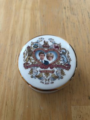 Charles & Diana Memorabilia Trinket Box for Sale in Fort Belvoir, VA