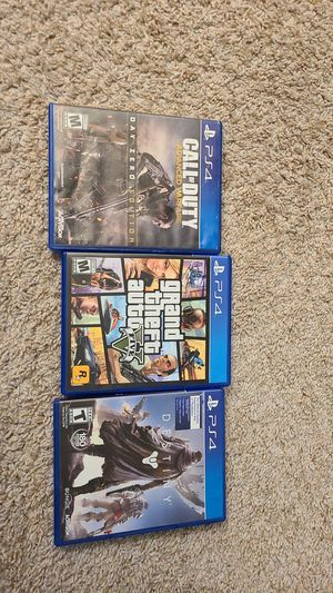 Ps4 games for Sale in Fairfax, VA