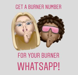 Get a Burner number for burner WhatsApp account for Sale in Beverly Hills, CA