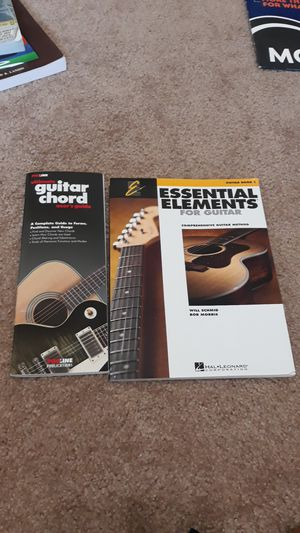 Guitar books for beginners for Sale in Columbia, MO
