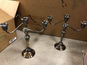 Antique silver candelabra for Sale in Mesa, AZ
