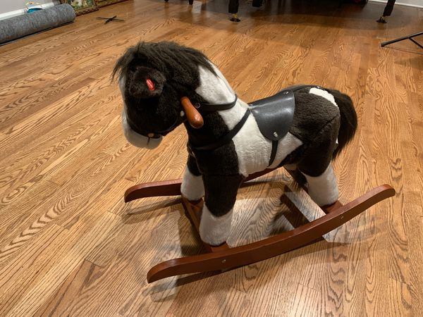 Rocking Horse Toy Interactive Plush