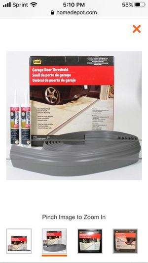 M-D Building Products 20 ft. Gray Garage Door Threshold Kit 50101 for Sale in Dublin, OH