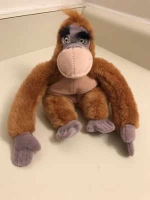 "Disney The Jungle Book King Louie 8"" Tall Beanbag Stuffed Animal Plush Doll for Sale in Taylorsville, UT"