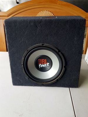 """JBL Power Series Subwoofer 10"""" (250mm) High Excursion Subwoofer Titanium Composite Woofer Cone Butyl Rubber Surround Optimized Watt 300 Watts RMS for Sale in Compton, CA"""