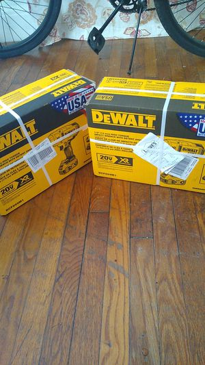 DeWalt impact wrench drill for Sale in Portsmouth, VA