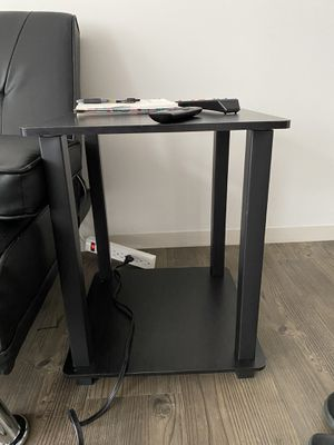 Two Black End Tables for Sale in Silver Spring, MD