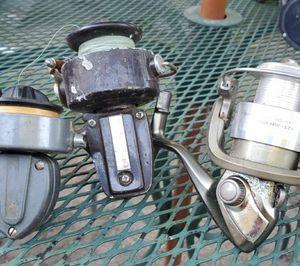 3 Assorted Fishing Reels for Sale in Hampton, VA