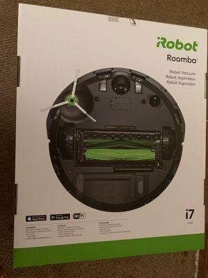 iRobot Roomba i7 Black Robotic Vacuum for Sale in Marietta, GA