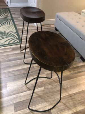 2 counter stools for Sale in Pinellas Park, FL