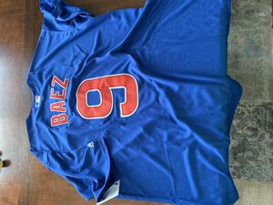 Chicago Cubs Javy Baez Jersey XL for Sale in Aurora, IL