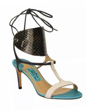 Salvatore Ferragamo Pegan Leather Heels for Sale in Greenbelt, MD
