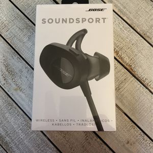 BOSE Soundsport Wireless Earbuds NEW for Sale in Laveen Village, AZ
