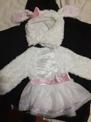 Bunny costume 12-24 months for Sale in Grand Prairie, TX