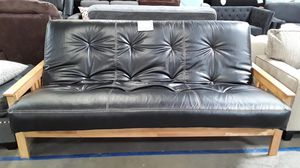 "NEW Kodiak / ""Monterey"" Butternut Indoor/Outdoor (Patio) Futon (w/ Faux Leather ""Full"" Mattress) for Sale in Temecula, CA"