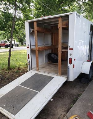 Work Trailer 10x6x6 Route 66 Trailer for Sale in Fort Worth, TX
