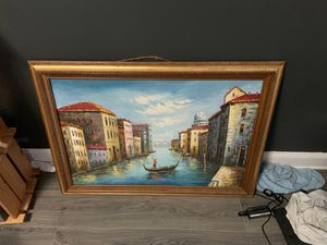Venice oil painting for Sale in Preston, MD