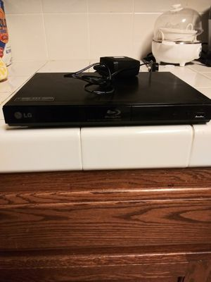 LG BluRay player/DVD player. for Sale in Del Rey, CA