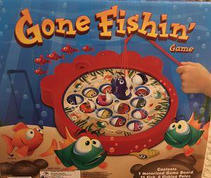 New in box - Gone Fishin' Game -Plz Read for Sale in Denver, CO