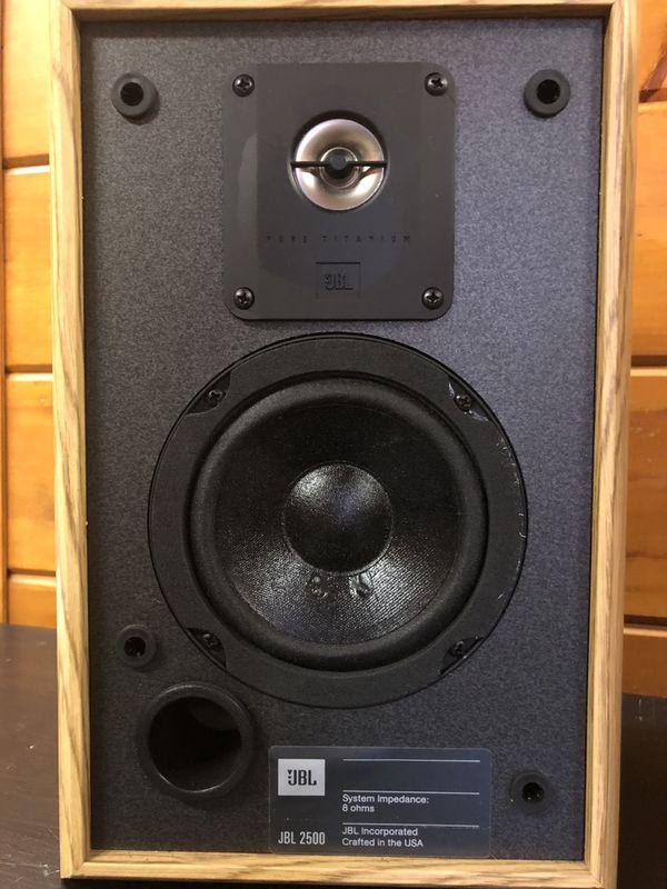 JBL 2500 2 way Bookshelf Stereo Speakers for Sale in Los Angeles, CA -  OfferUp