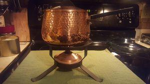Copper fondue pot for Sale in Glendale, AZ