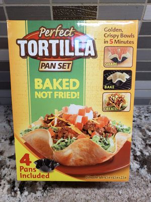 Perfect Tortilla Pan Set for Sale in Pearland, TX