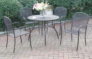 5PC PATIO DINING SET FREE DELIVERY for Sale in US