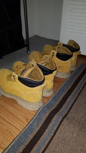 Mens Brahma Work Boots Steel Toe Sizes 10 and 13 for Sale in Schaumburg, IL