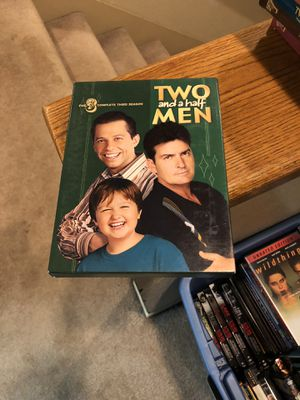 Two And A Half Men The Complete Third Season DVD 3 three box set S3 Charlie Sheen for Sale in Buena Park, CA