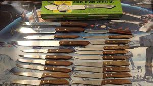 Vintage Nasco Kitchen Knives - Japanese Steel for Sale in Biddeford, ME