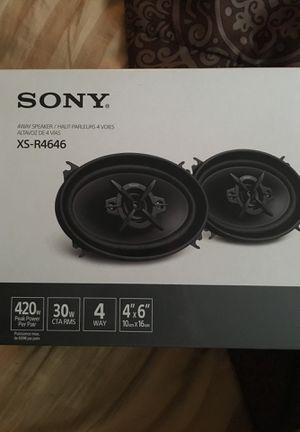 Sony Car Speakers for Sale in Old Bridge, NJ