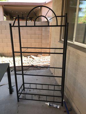 Need gone ASAP. Metal shelf unit for Sale in Phoenix, AZ