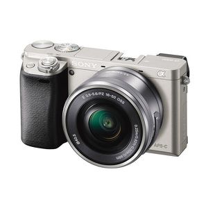 Sony Alpha a6000 Mirrorless Digital Camera 24.3 MP SLR Camera, Silver color for Sale in Seattle, WA