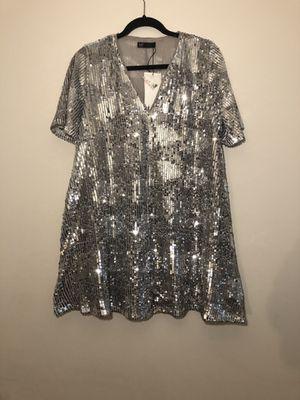 Zara Sequin Dress Sz. Medium for Sale in Lake Ridge, VA