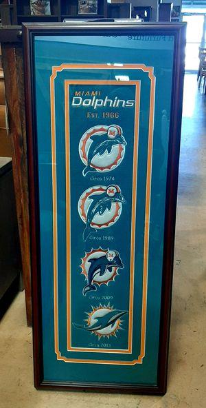 Miami dolphin wall banner for Sale in Miami, FL