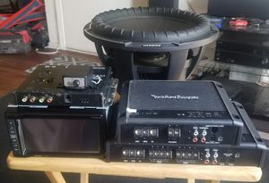 car audio complete system for Sale in Fontana, CA