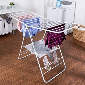 Heavy-Duty Folding Gullwing Laundry Drying Rack for Sale in Vienna, VA