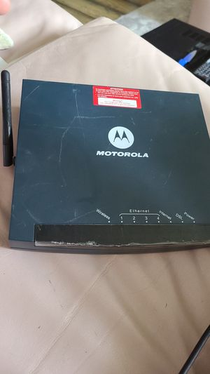 Motorola dsl router for Sale in Delray Beach, FL