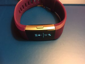 Fitbit charge 2 plum color wristband for Sale in Los Angeles, CA
