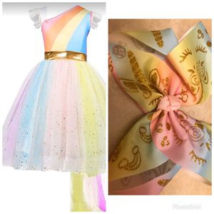JoJo Siwa inspired dress and signature bow for Sale in Miramar, FL