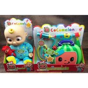 New Cocomelon Singing Bedtime JJ Doll Plush and Doctor Checkup Case Set Bundle Toys for Sale in Compton, CA
