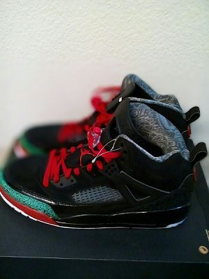 Jordan Spizike black varsity red men size 13 for Sale in Oakland, CA