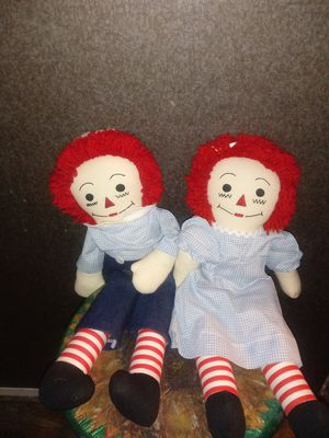 Vintage Raggedy Ann and Andy Dolls for Sale in Richardson, TX