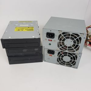 Lot of computer parts- CD/DVD drives and power supplies for Sale in Tucson, AZ