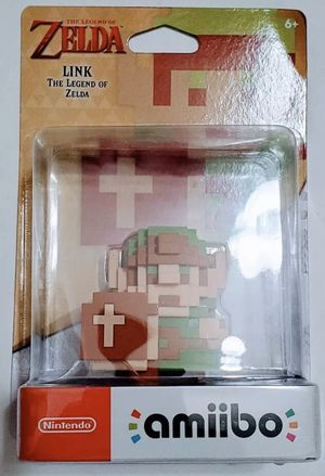 The Legend of Zelda Link Nintendo 8 Bit Amiibo Nint Switch Wii U 3DS New Sealed for Sale in Los Angeles, CA