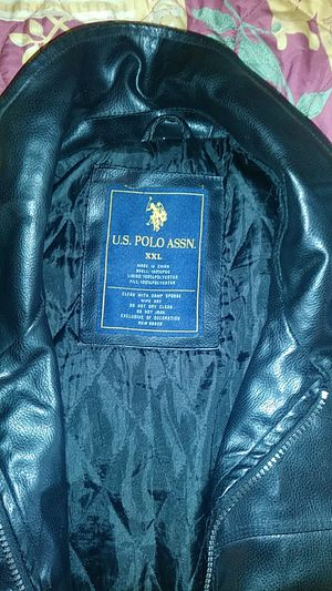Polo Leather Jacket for Sale in Winter Haven, FL