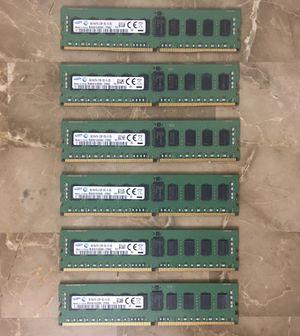 Samsung 48GB ( 8GB x 6 ) 2133MHz DDR4 Server RAM Memory for Server computer system - NOT FOR DESKTOP for Sale in Pembroke Pines, FL
