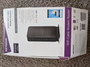 NetGear Modem+Router Combo for Sale in Tampa, FL